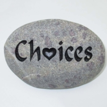 Choices Pet Memorial Stone