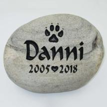 Danni Pet Memorial Stone