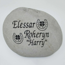 Harry Pet Memorial Stone