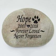 Forever loved Pet Memorial Stone