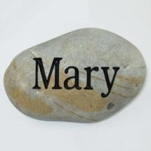Mary Custom Memorial Stone