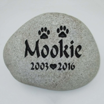 Mookie Custom Memorial Stone