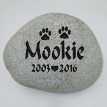 Mookie Custom Memorial Stone