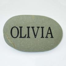 Olivia Custom Memorial Stone