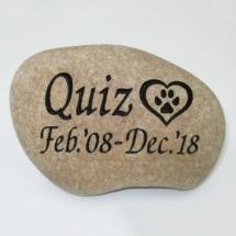 Quiz Custom Memorial Stone