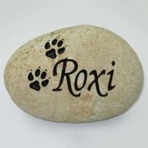 Roxi Custom Memorial Stone