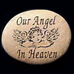 Our Angel In Heaven Memorial Stone