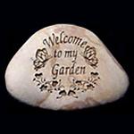 Welcome to my Garden Memorial Stone