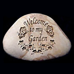 Welcome to my Garden Memorial Stone