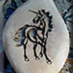 Unicorn Pet Memorial Stone