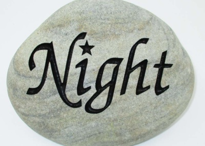 Night Custom Memorial Stone
