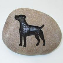 Dog Standard Pet Memorial Stone