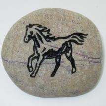 Horse Standard Pet Memorial Stone